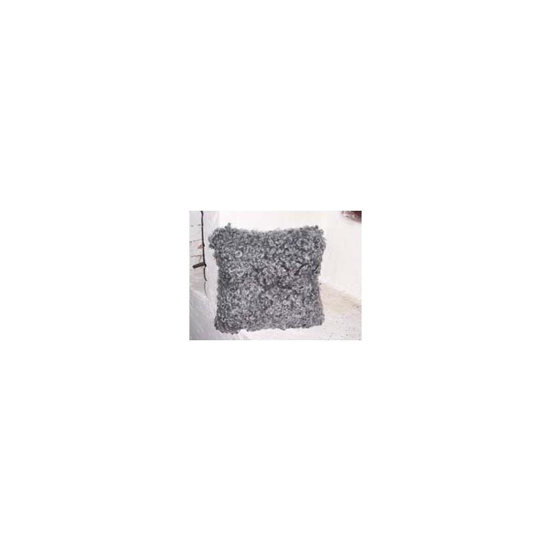 Lammskinnskudde 35x35 cm