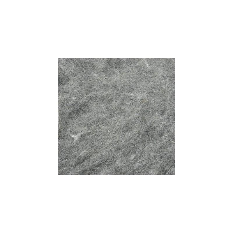 Kardflor mellangrå ull 100 g