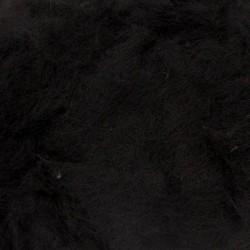 Karvflor svart ull 100 g