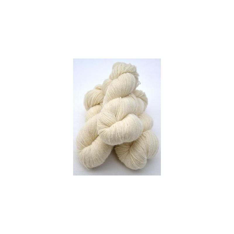 Ullgarn vit 2-trådigt ca 100 g